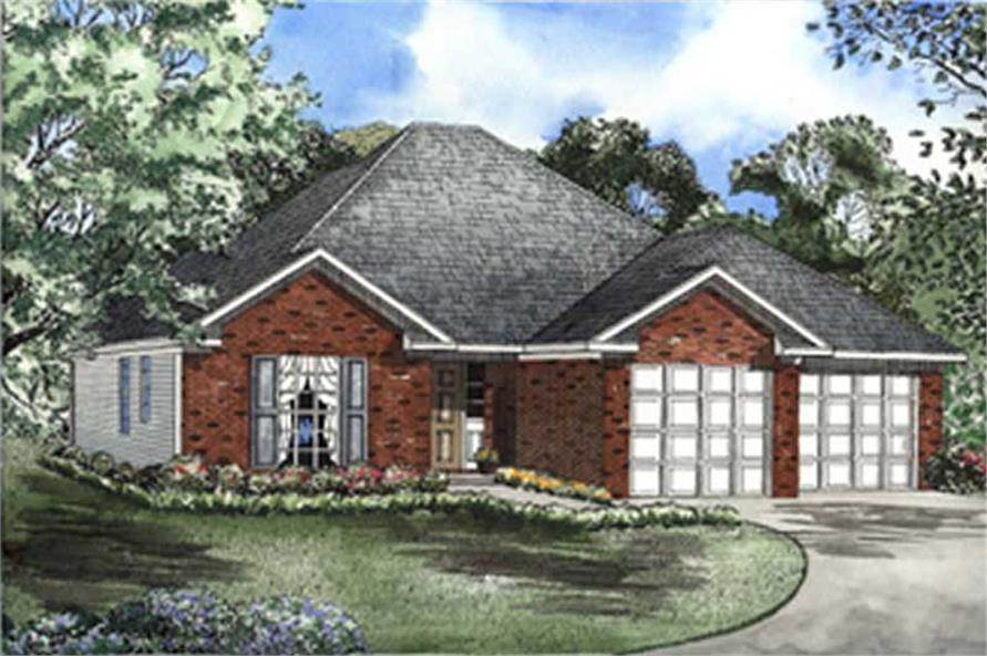 Main image for house plan # 7872