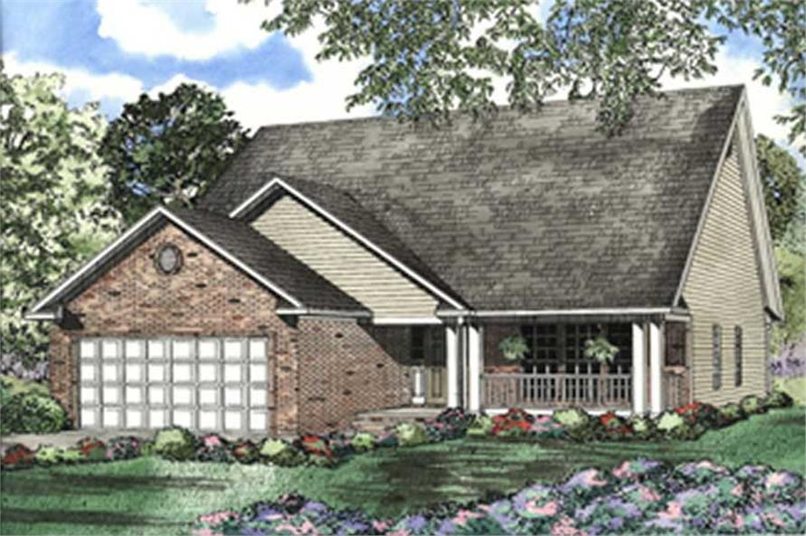 Main image for house plan # 7870