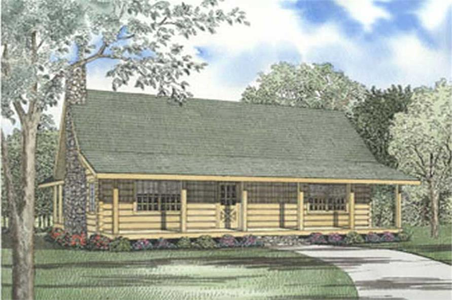 Main image for home plan # 5111