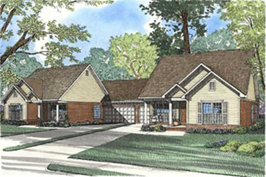 Main image for house plan # 3946