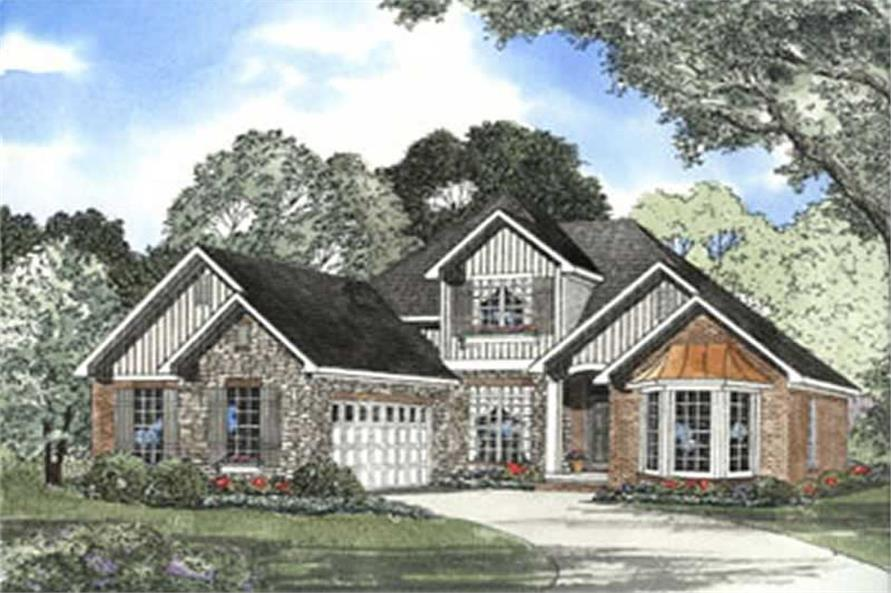 Main image for house plan # 3790