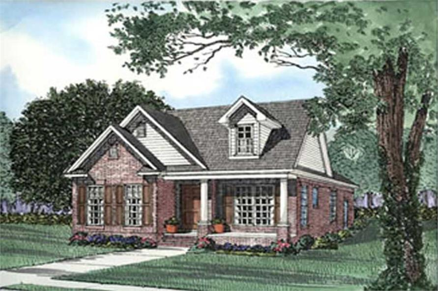 Main image for house plan # 3928