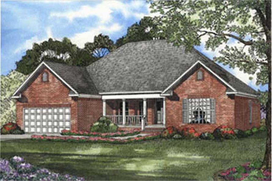 Main image for house plan # 3792