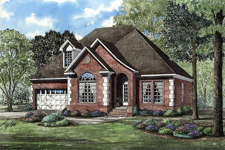 Main image for house plan # 3691