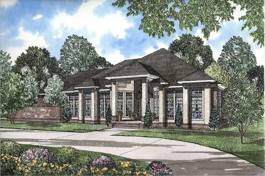 Main image for house plan # 3586