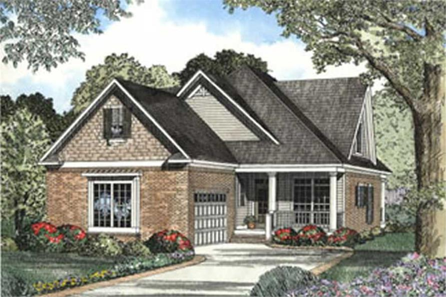Main image for house plan # 3748