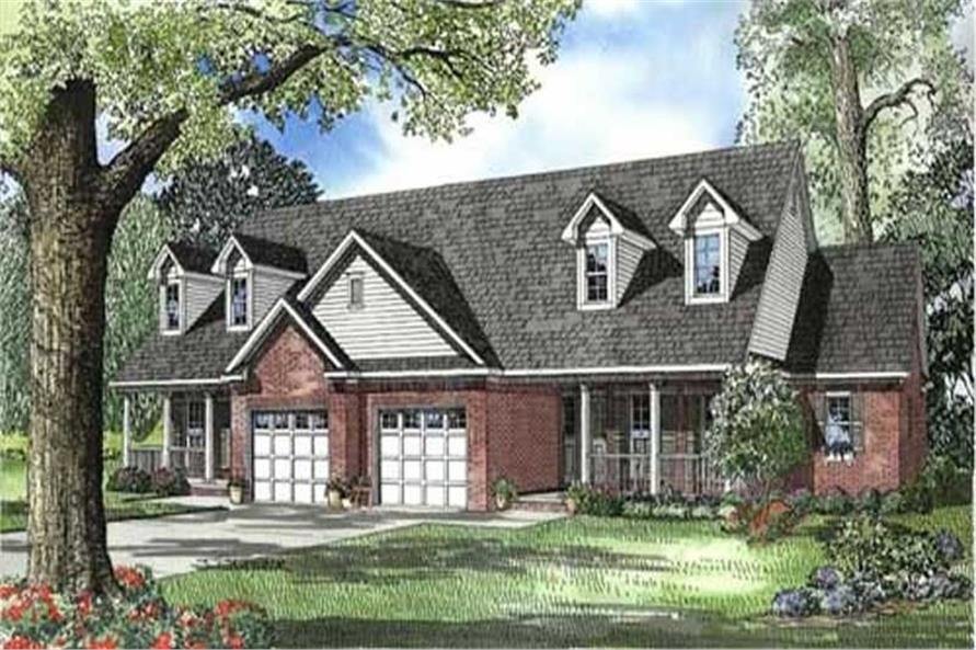 Main image for house plan # 7777