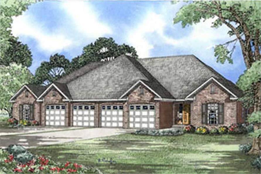 Main image for house plan # 3918