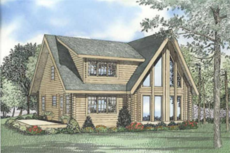 Main image for home plan # 5126