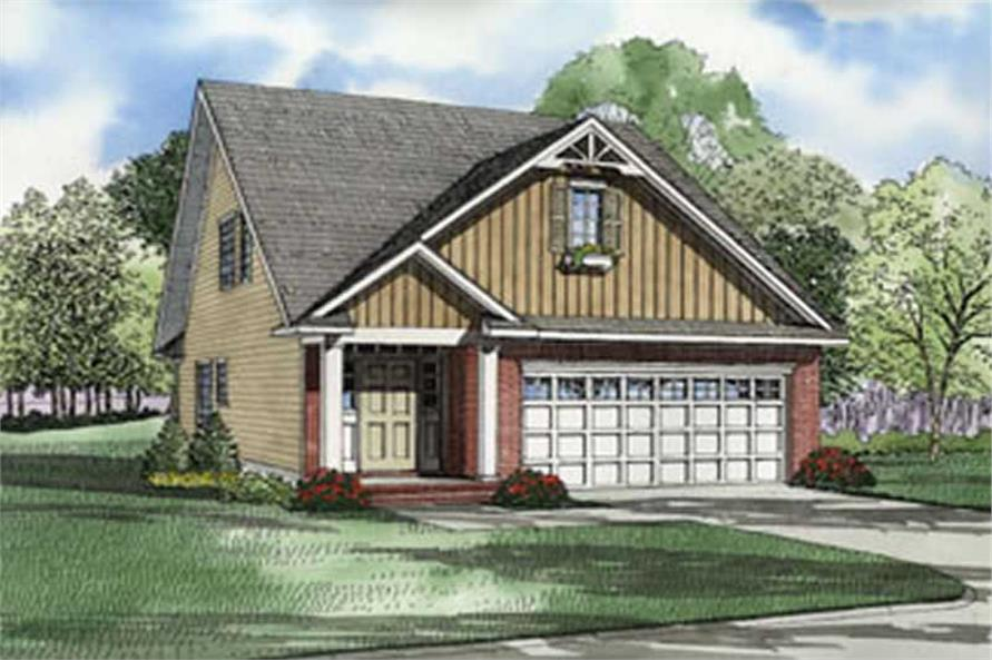 Main image for house plan # 4049
