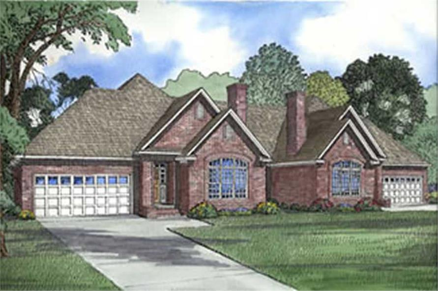Main image for house plan # 3970