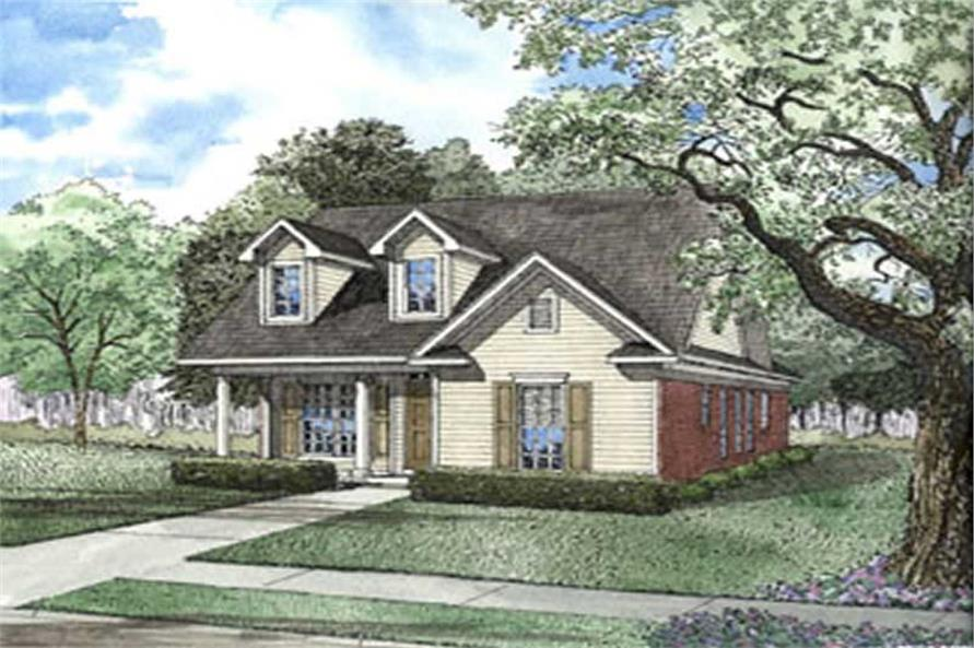 Main image for house plan # 3812
