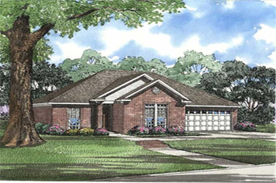 Main image for house plan # 4005