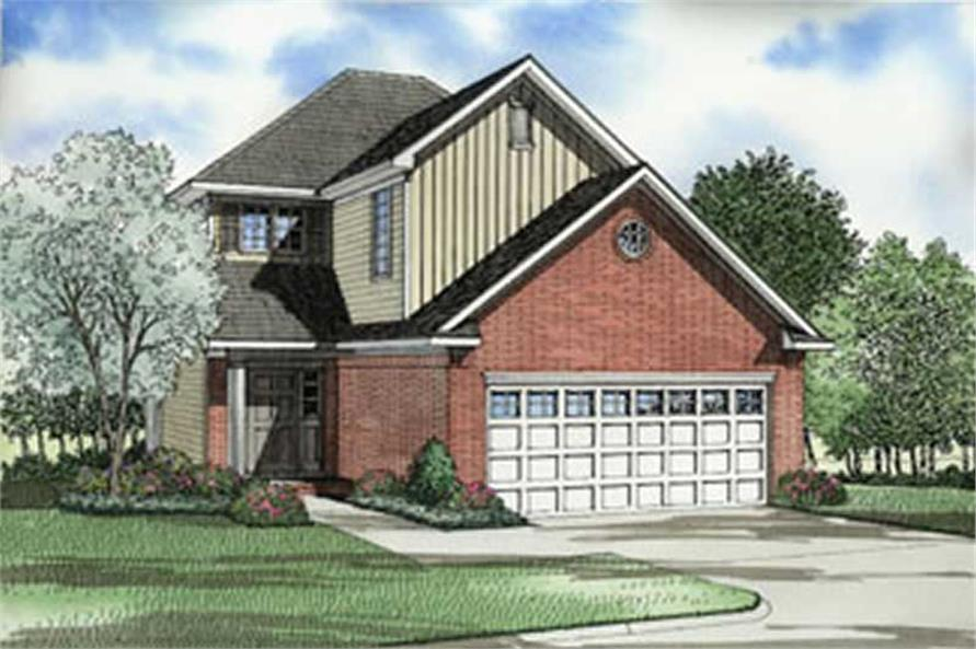 Main image for house plan # 4048