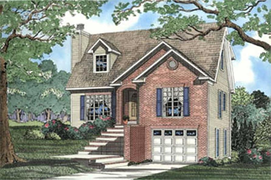 Main image for house plan # 3923