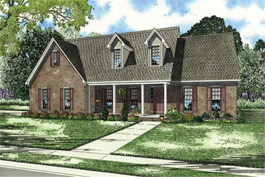 Main image for house plan # 4071