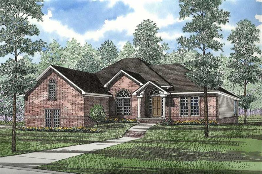Main image for house plan # 3566