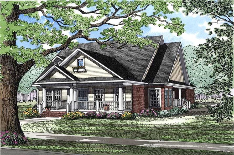 Main image for house plan # 3590