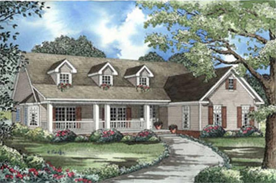 Main image for house plan # 4077