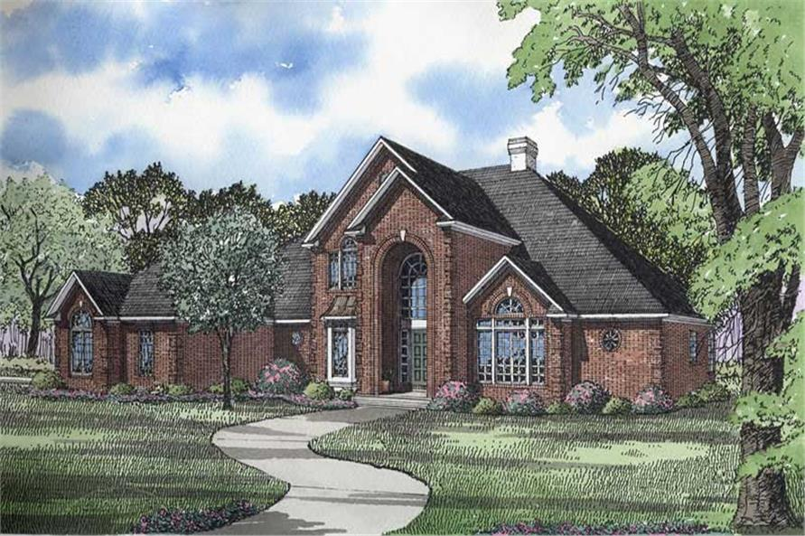 Main image for house plan # 3332