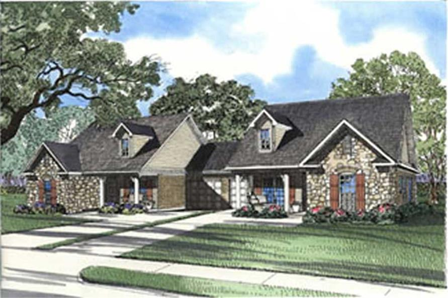 Main image for house plan # 3944