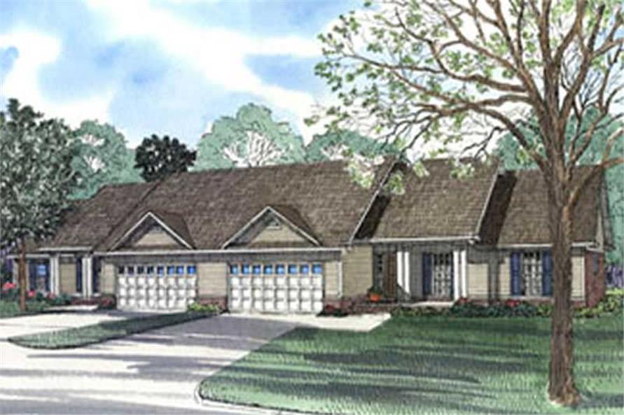 Main image for house plan # 3949