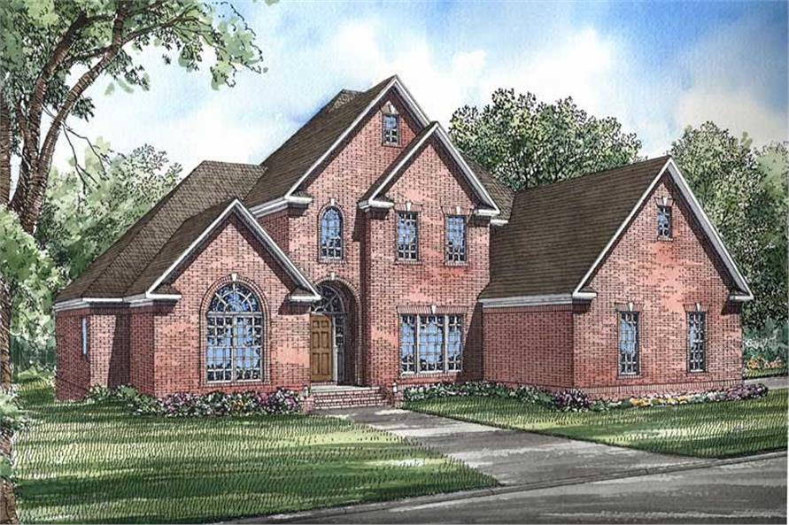 Main image for house plan # 3920
