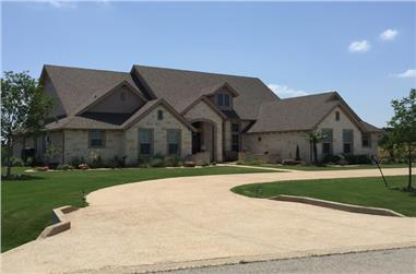 5-Bedroom, 3003 Sq Ft Country Home Plan - 153-1659 - Main Exterior
