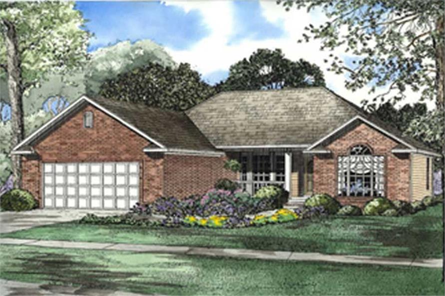 Main image for house plan # 4065
