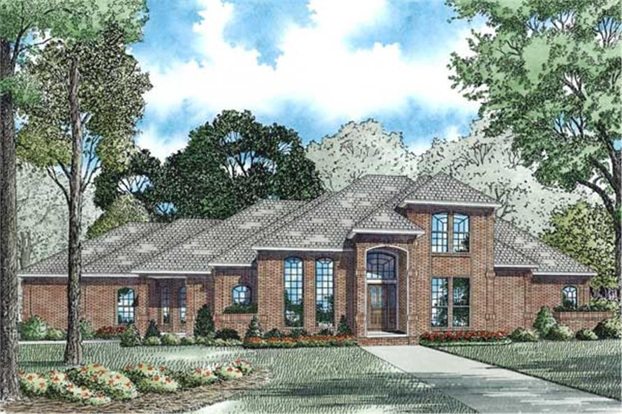 Main image for house plan # 4074