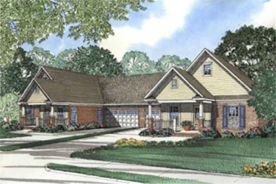 Main image for house plan # 3943