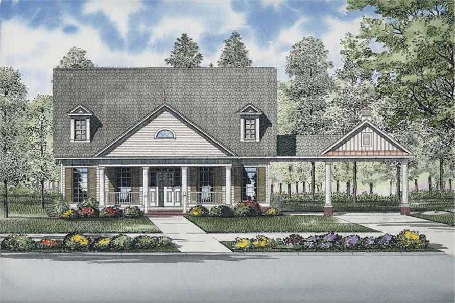 Main image for house plan # 8213
