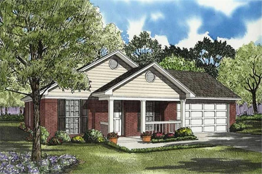 Main image for house plan # 7793
