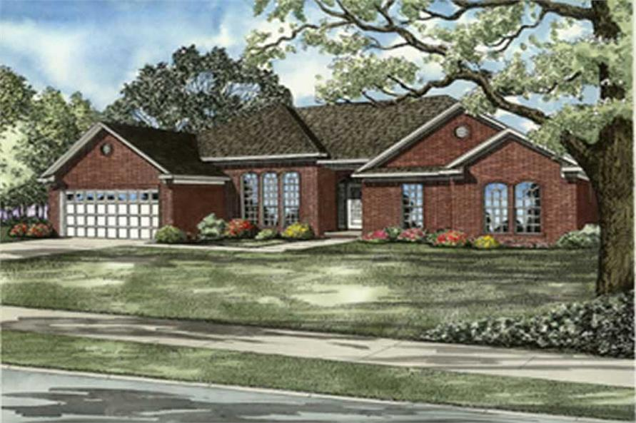Main image for house plan # 8233