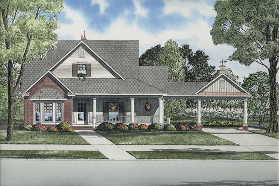 Main image for house plan # 8217