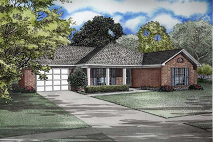Main image for house plan # 8231
