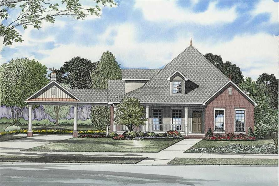 Main image for house plan # 8210