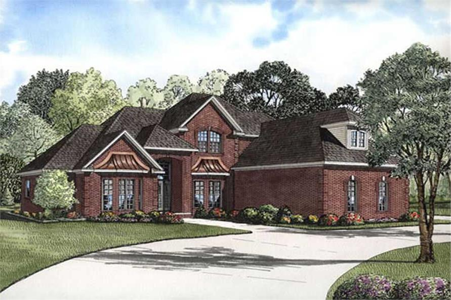 Main image for house plan # 11469