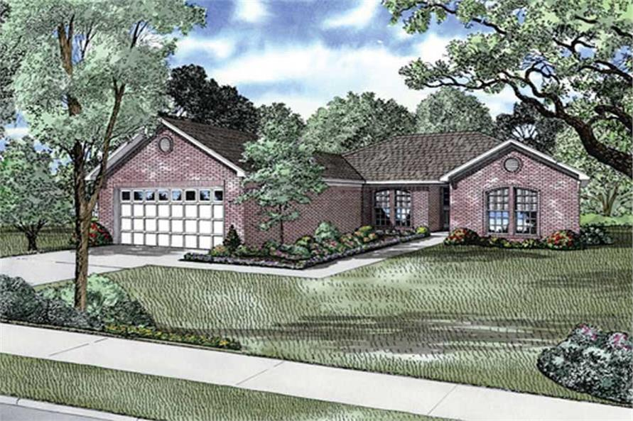 Main image for house plan # 11470