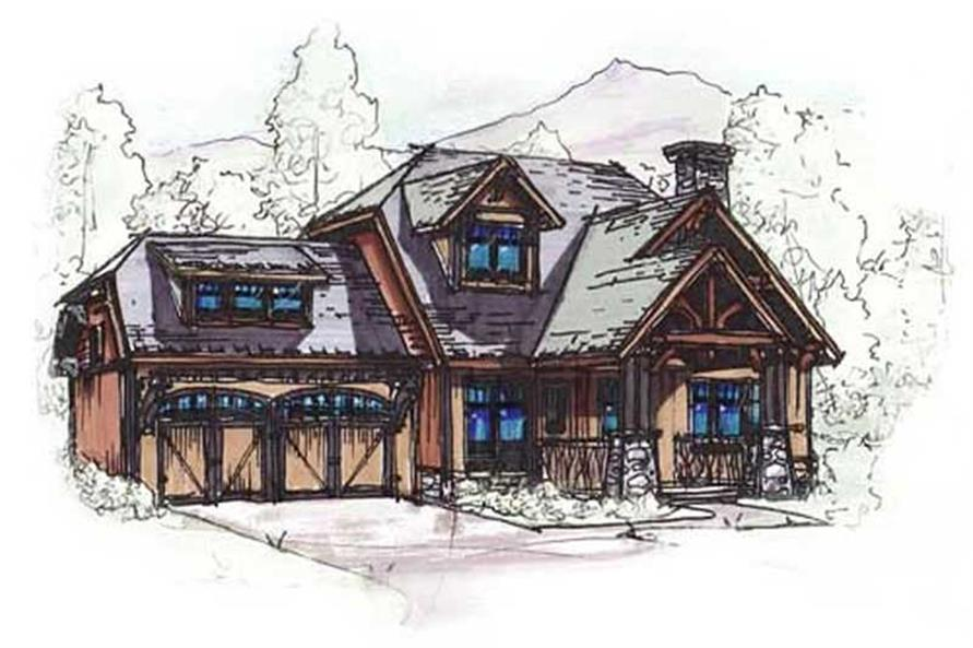 Main image for house plan # 11476