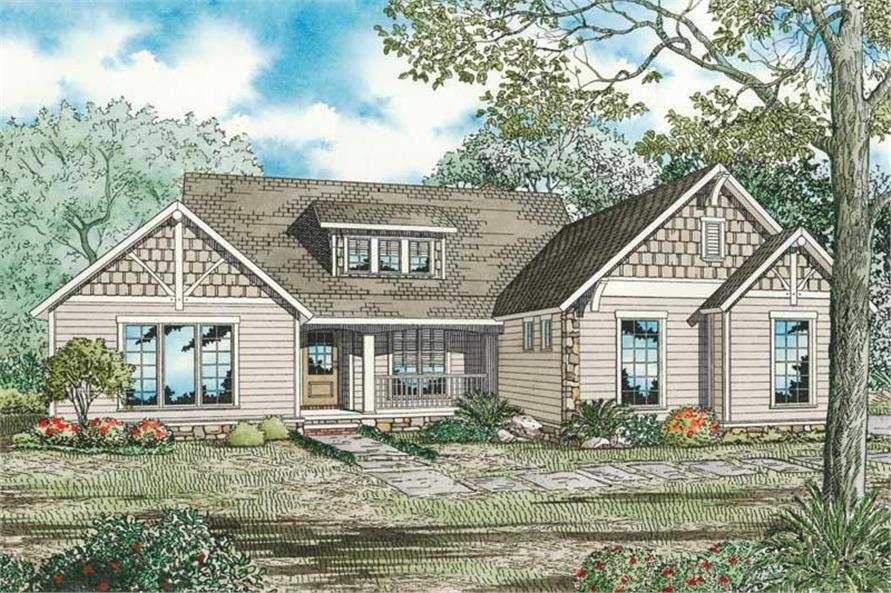 Main image for house plan # 19838