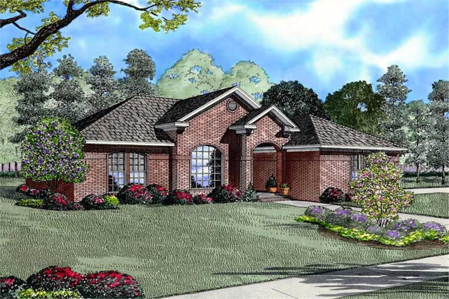 Main image for house plan # 8475