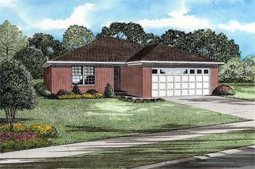 Main image for house plan # 11465