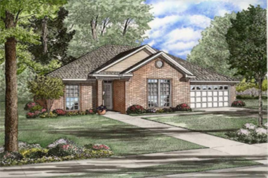 Main image for house plan # 8243