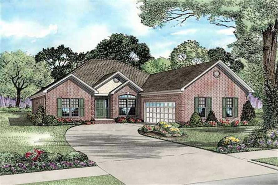 Main image for house plan # 11490