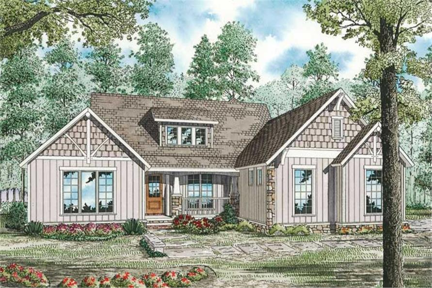 Main image for house plan # 19837