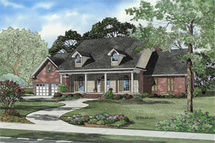 Main image for house plan # 8241