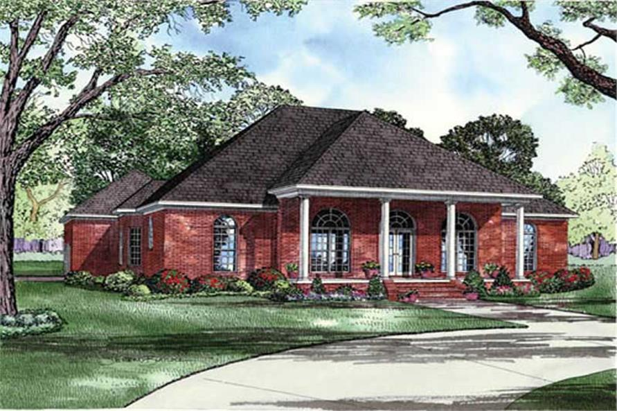 Main image for house plan # 9235