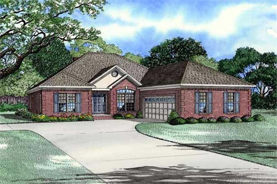 Main image for house plan # 11488