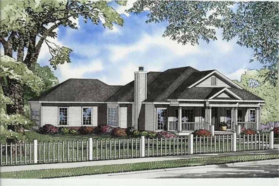 Main image for house plan # 7792